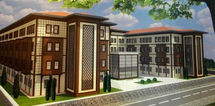 Türkiye'nin En Modern Anadolu İmam Hatip Lisesi Güneysu\'da Yapılıyor
