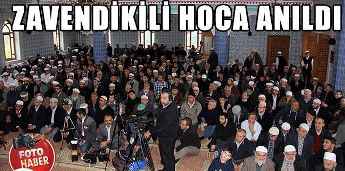 Zavendikli Mustafa Yıldız Hocaefendi anıldı