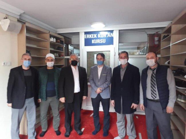 RTEÜ Öğretim Görevlilerinden Günhafder'e İade-i Ziyaret