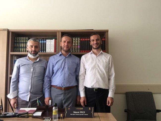 GÜNHAFDER'den Din İşleri Yüksek Kurulu Uzmanı Murat Peçe'ye ziyaret