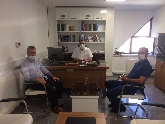 GÜNHAFDER'den Hafızlık Eğitimi Daire Başkanı İbrahim Yılmaz'a ziyaret