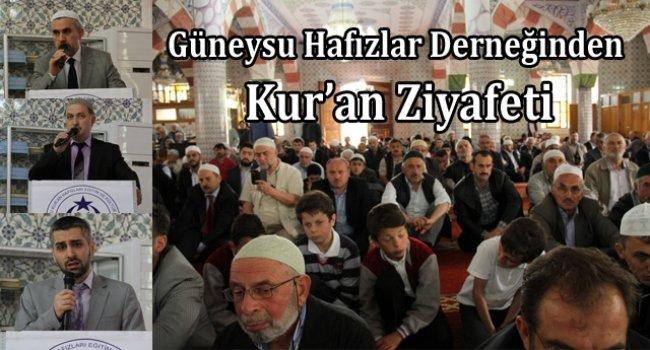 GÜNHAFDER, Rize'de Kur'an Ziyafeti Düzenledi